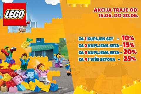 Više LEGO® kocki - Veći popusti!