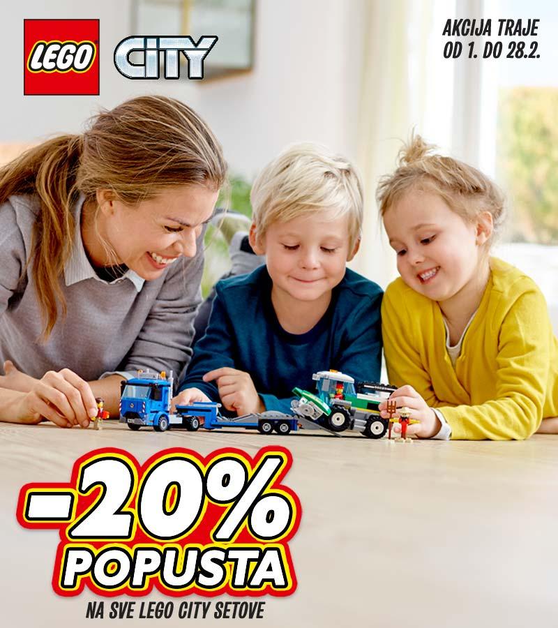 LEGO City -20% popusta