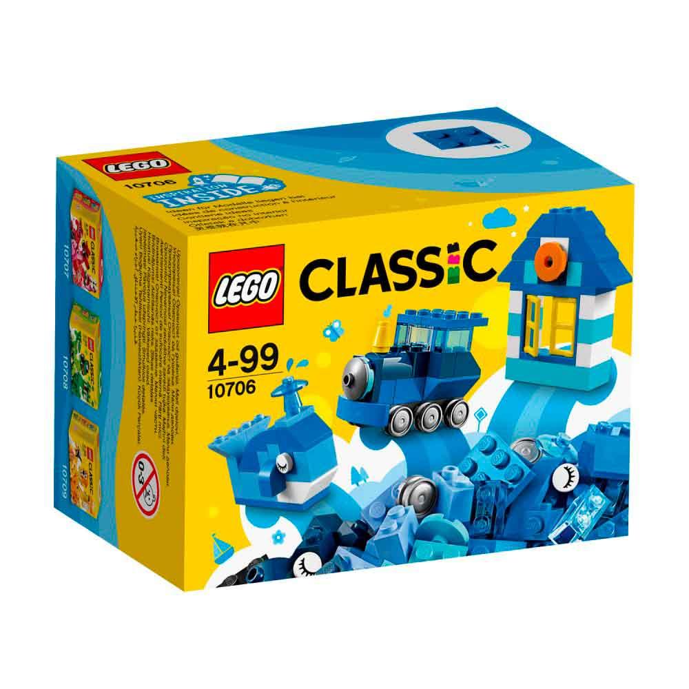 LEGO CLASSIC BLUE CREATIVITY BOX