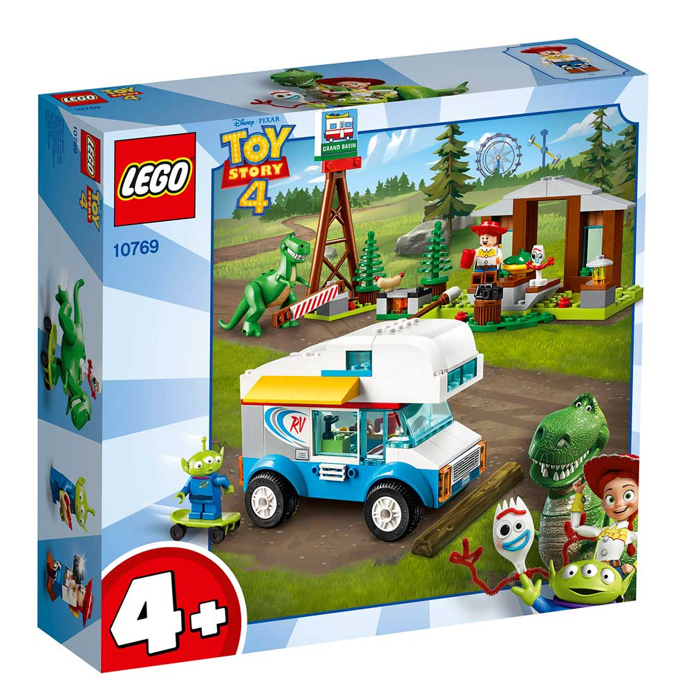 LEGO JUNIORS TOY STORY 4 RV VACATION