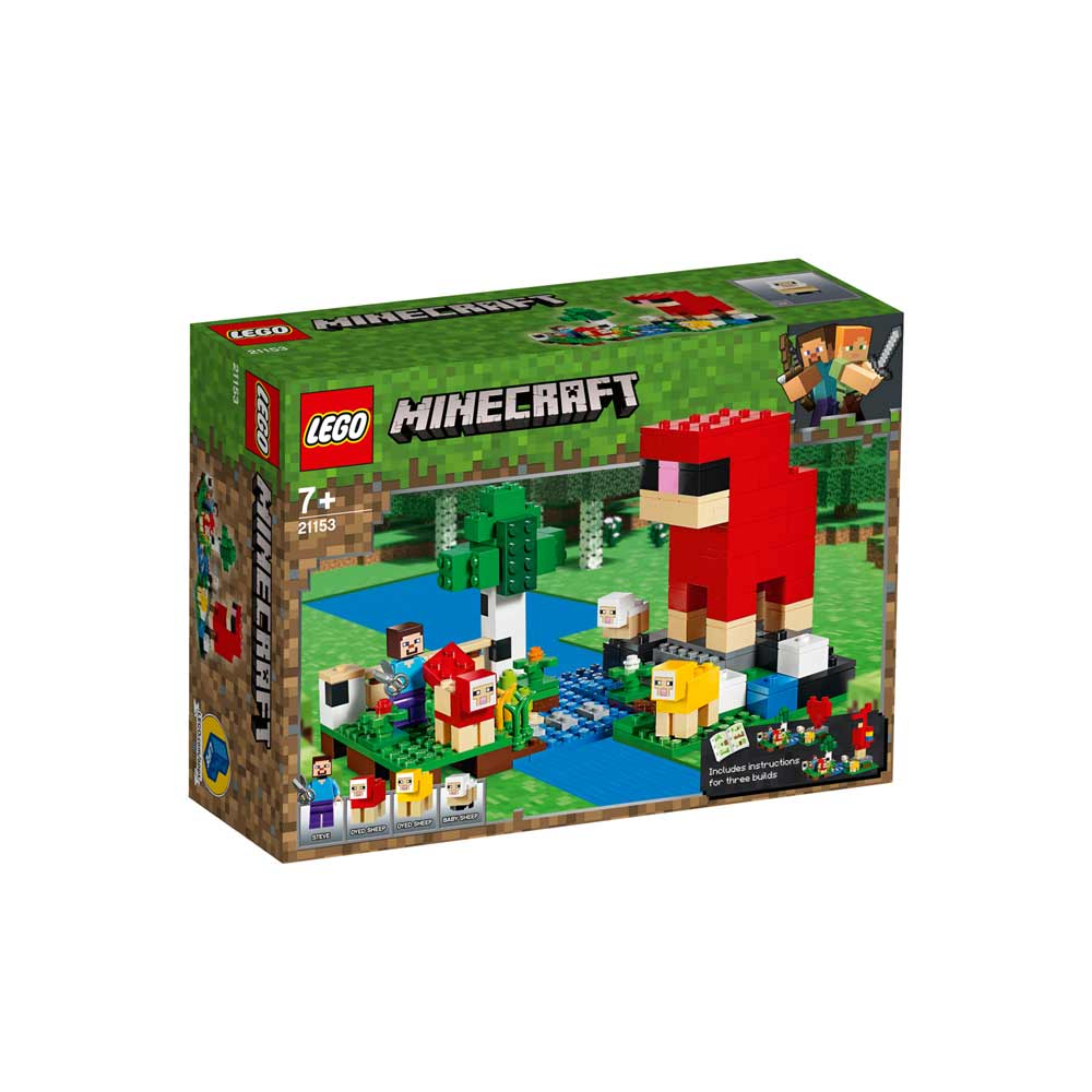 LEGO MINECRAFT THE WOOL FARM