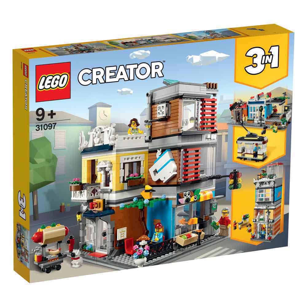 LEGO CREATOR TOWNHOUSE PET SHOP & CAFÉ