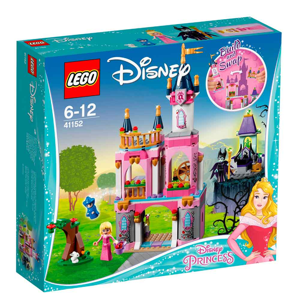 LEGO DISNEY PRINCESS SLEEPING BEAUTY'S FAIRYTAILE CASTLE