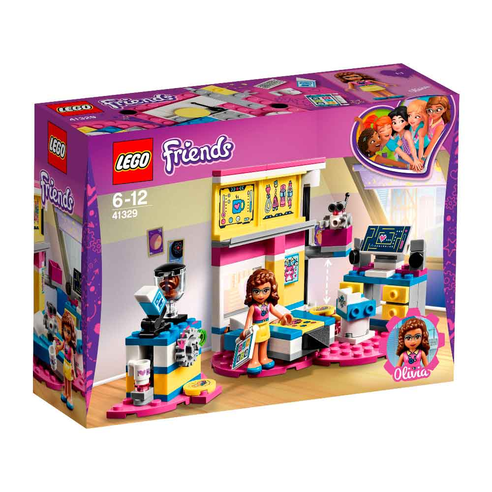 LEGO FRIENDS OLIVIAS DELUXE BEDROOM