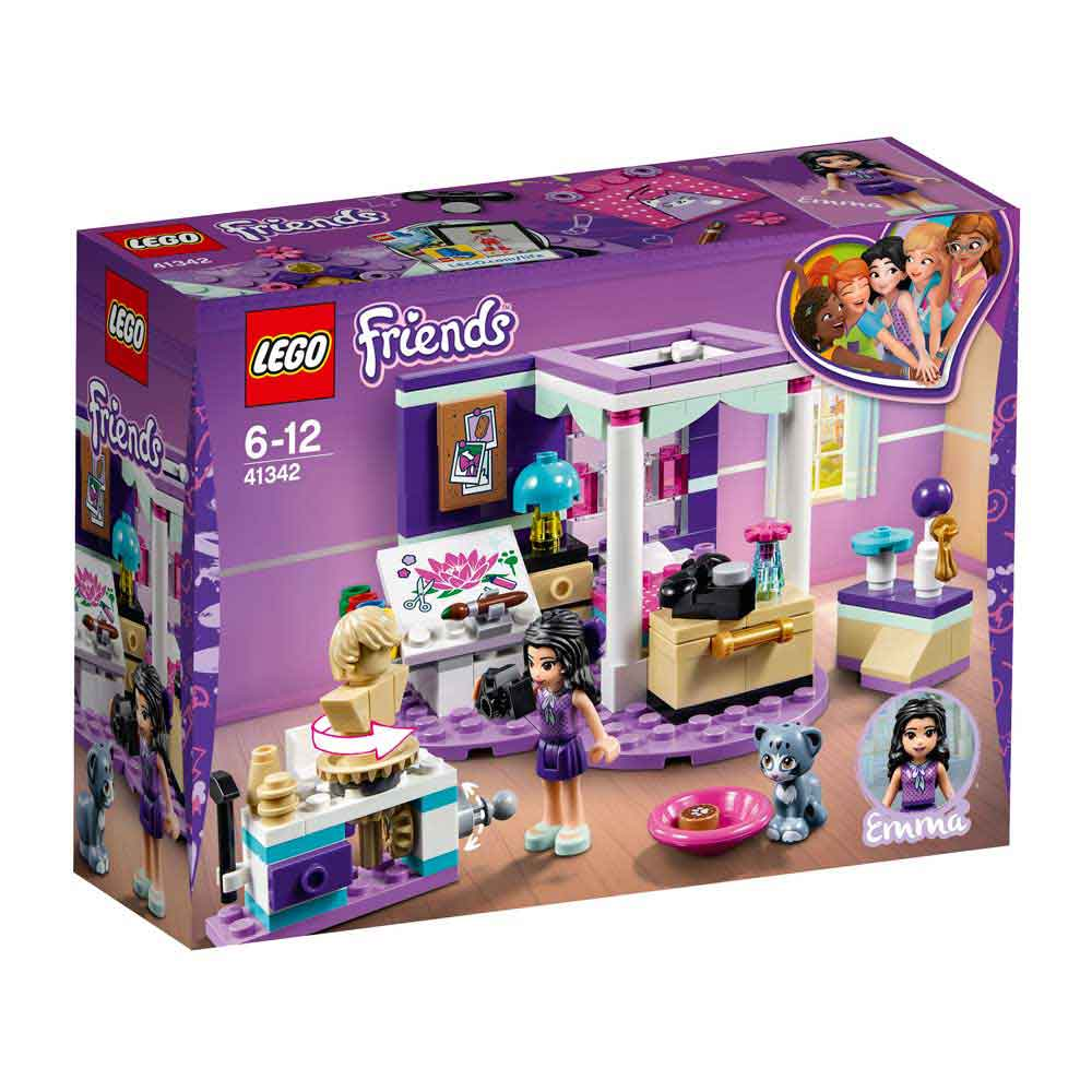 LEGO FRIENDS EMMA'S DELUXE BEDROOM
