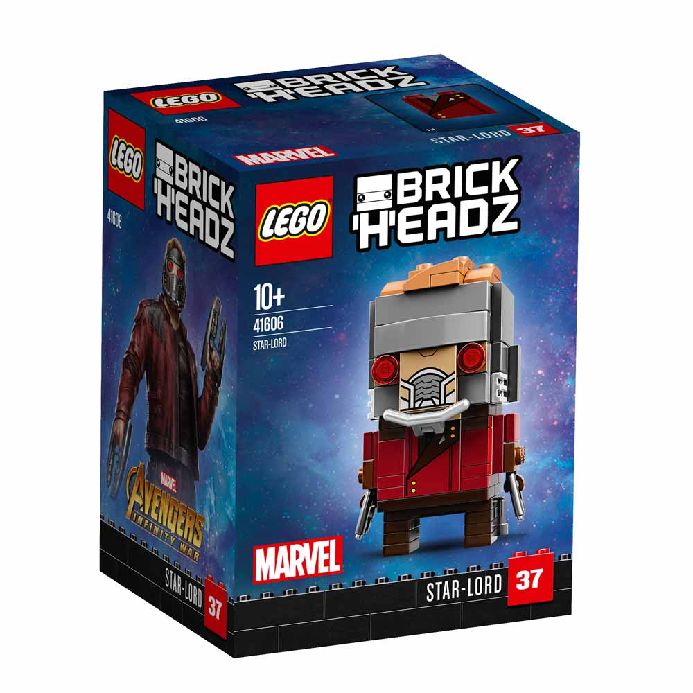 LEGO BRICK HEADZ STAR LORD