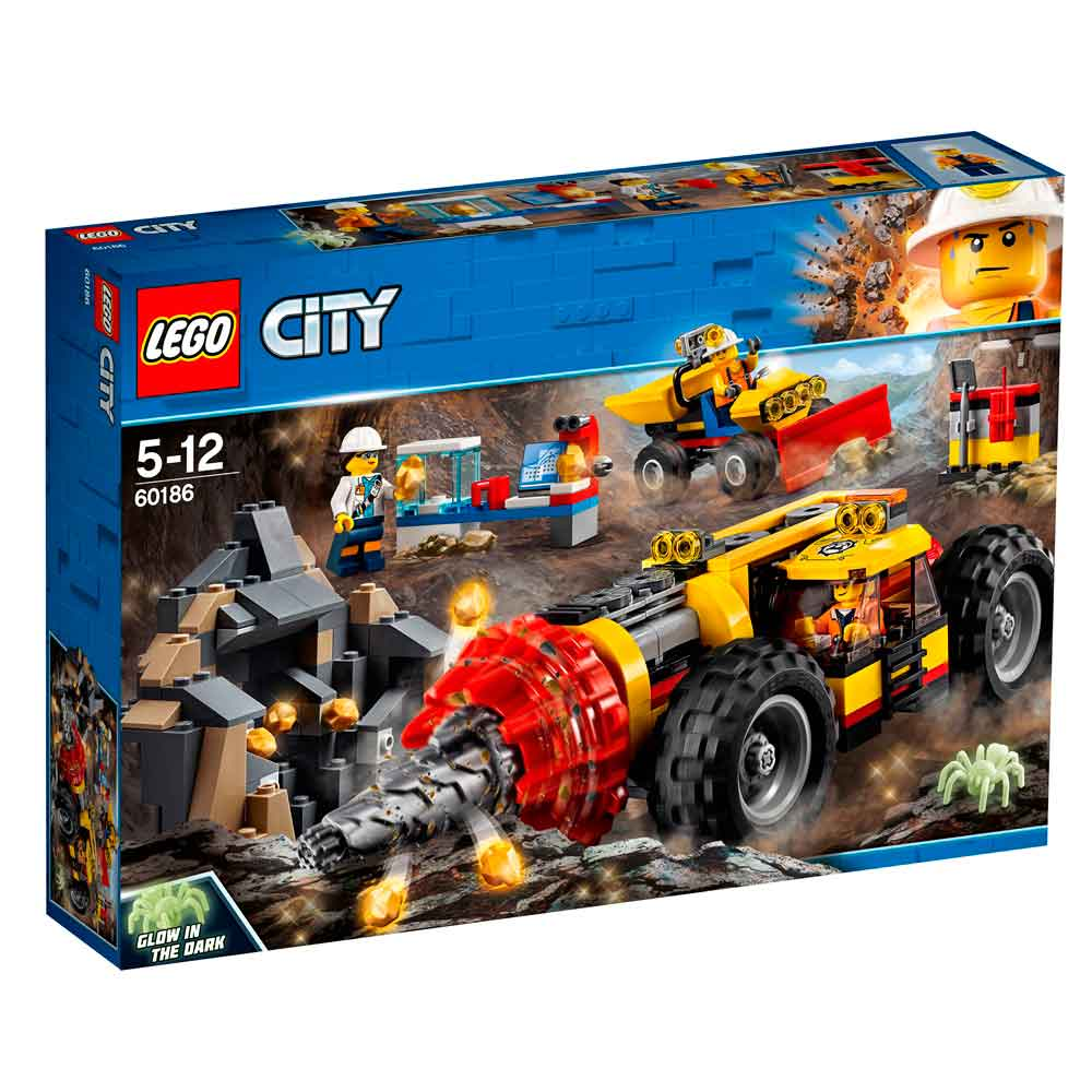 LEGO CITY MINING HEAVY DRILLER