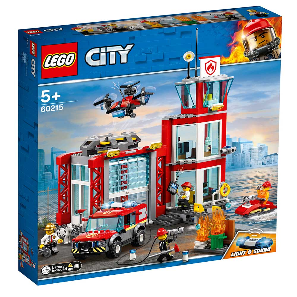 LEGO CITY FIRE STATION