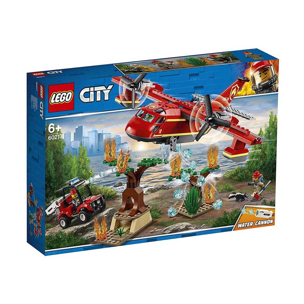 LEGO CITY FIRE PLANE