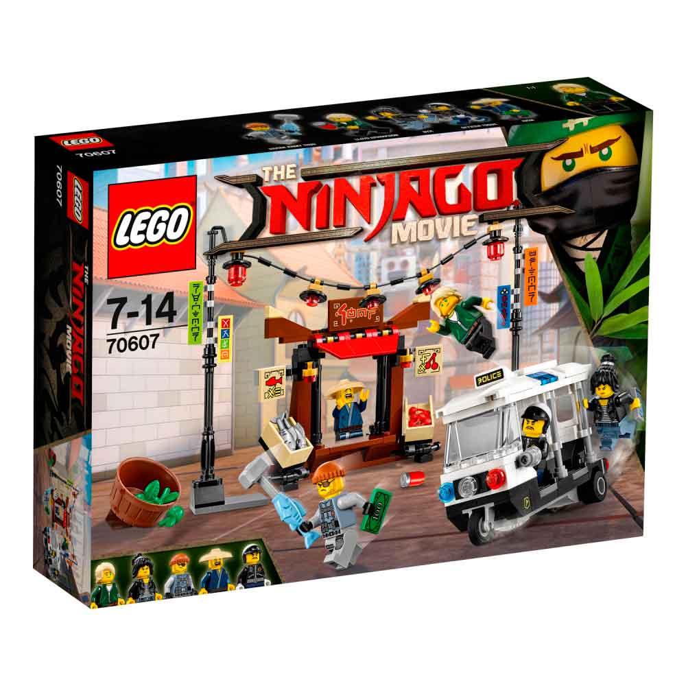 LEGO NINJAGO MOVIE CITY CHASE