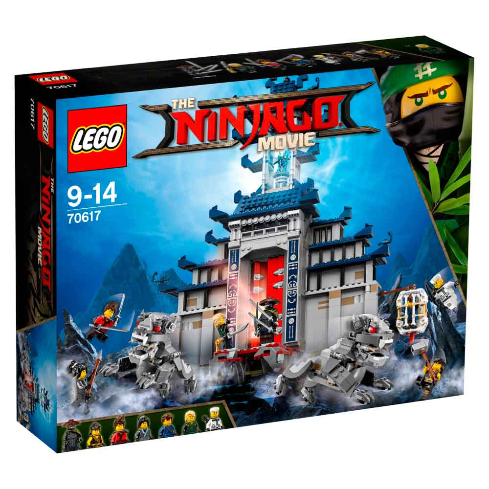 LEGO NINJAGO MOVIE TEMPLE OF THE ULTIMATE ULTIM