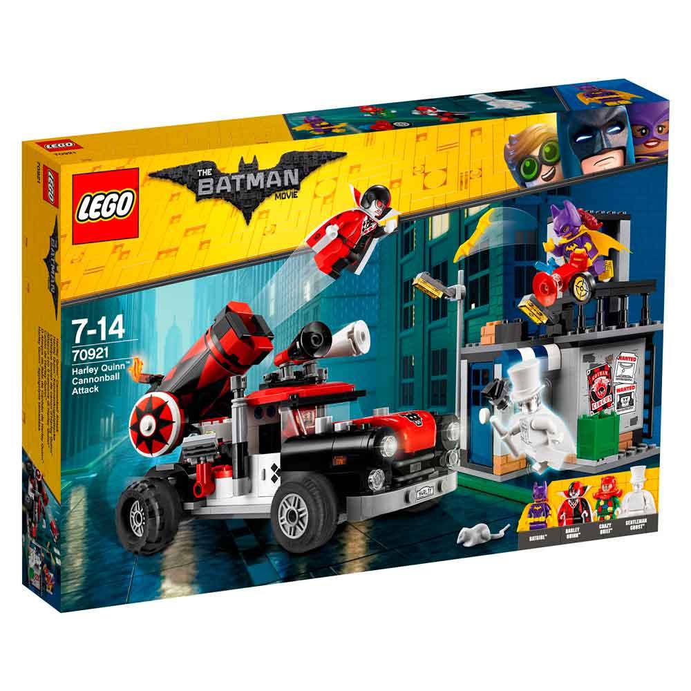 LEGO BATMAN MOVIE HARLEY QUINN CANNONBALL ATTACK