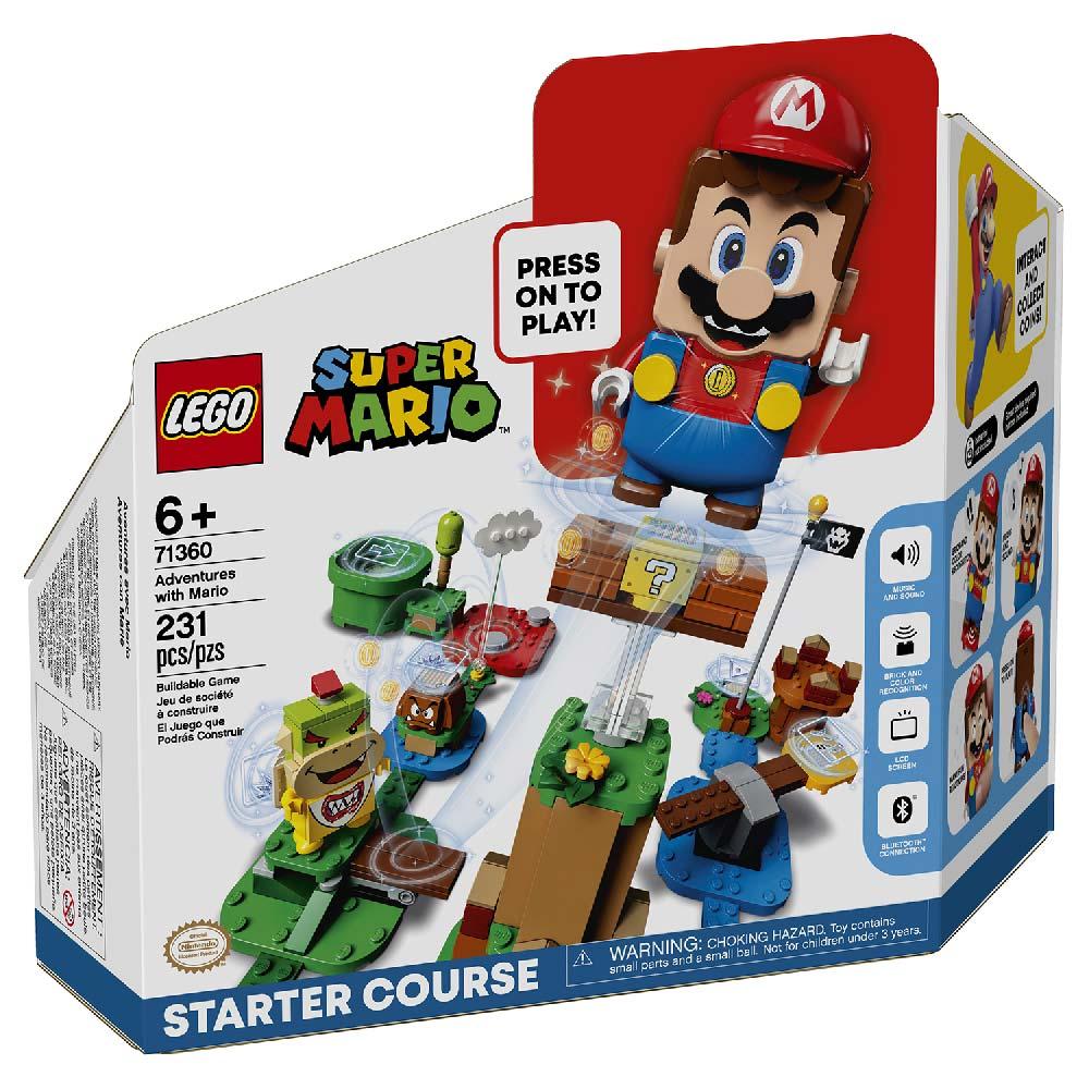LEGO SUPER MARIO ADVENTURES WITH MARIO STARTER SET