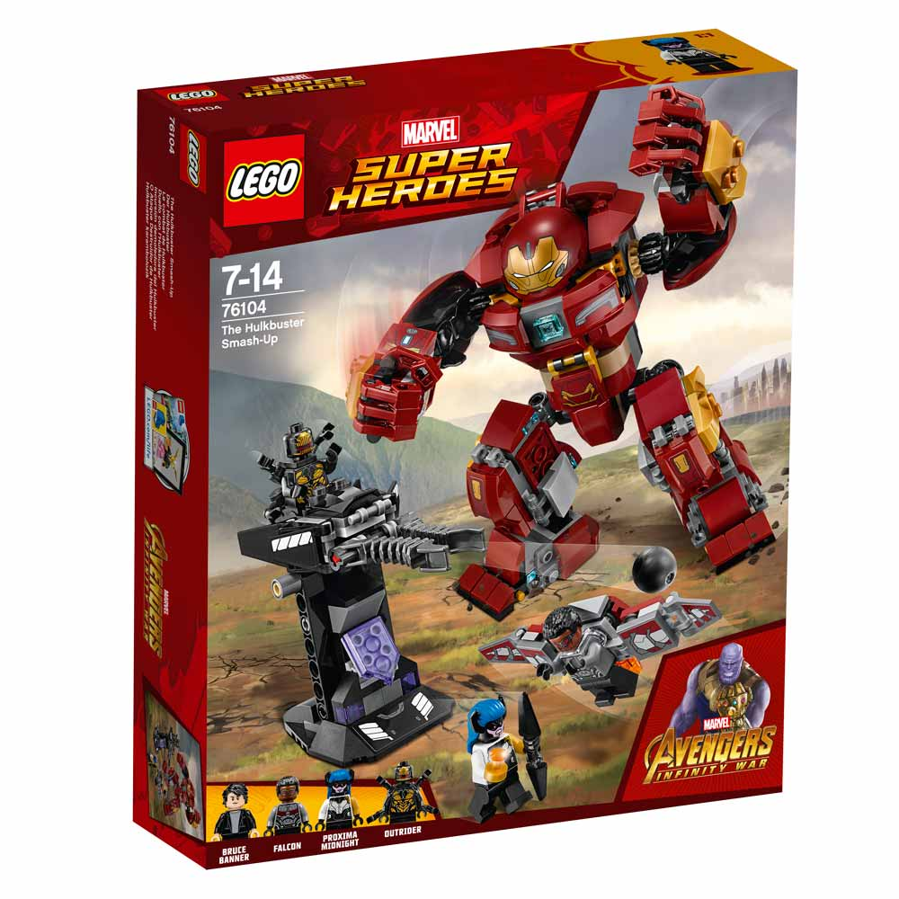 LEGO SUPER HEROES THE HULKBUSTER SMASH UP