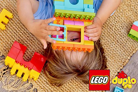Za prvi ulazak u LEGO® svet zabavne gradnje