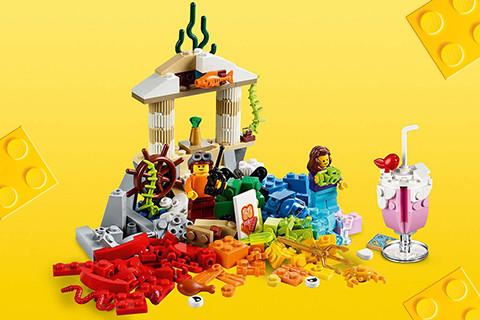 LEGO® Classic = Zabava, kreativnost, uživanje