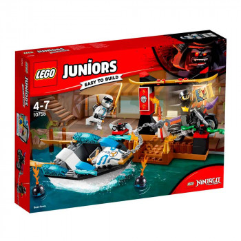 LEGO JUNIORS ZANES NINJA BOAT PURSUIT