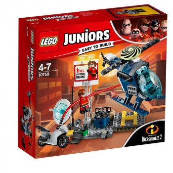 LEGO JUNIORS ELASTIGIRL'S ROOFTOP PURSUIT