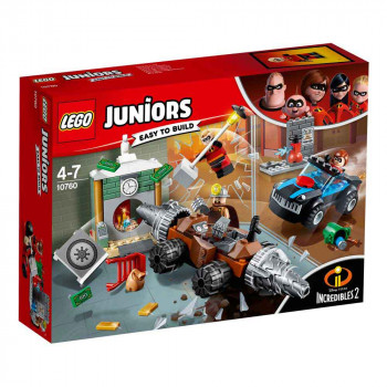 LEGO JUNIORS UNDERMINER BANK HEIST