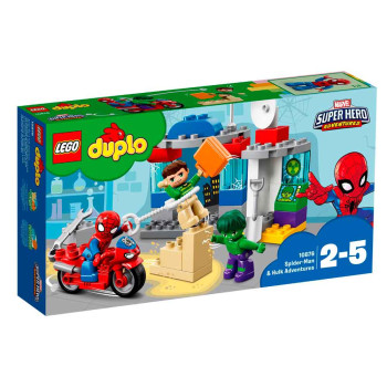 LEGO DUPLO SPIDER-MAN AND HULK ADVENTURES
