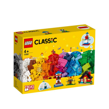 LEGO CLASSIC BRICKS AND HOUSES