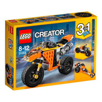 LEGO CREATOR SUNSET STREET BIKE