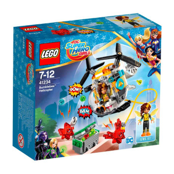 LEGO SUPER HERO GIRLS BUMBLEBEE HELICOPTER