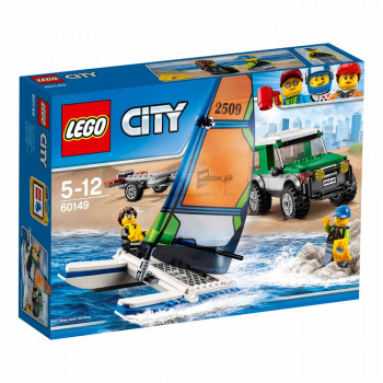 LEGO CITY 4X4 WITH CATAMARAN