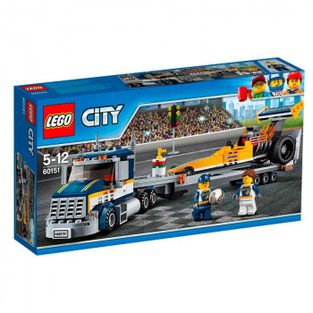 LEGO CITY DRAGSTER TRANSPORTER