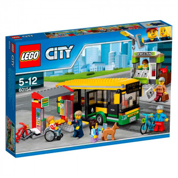 LEGO CITY BUS STATION