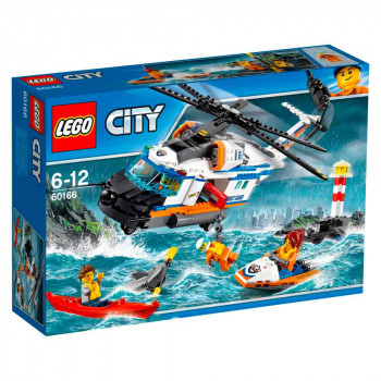 LEGO CITY HEAVY-DUTY RESCUE HELICOPTER V