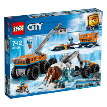 LEGO CITY ARCTIC MOBILE EXPLORATION BASE