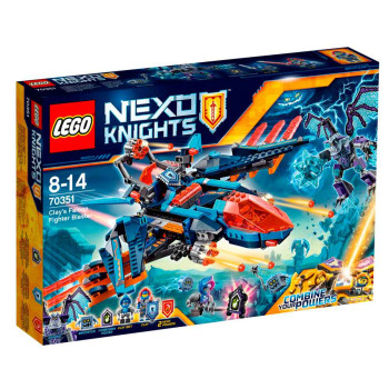 LEGO NEXO KNIGHTS CLAYS FALCON FIGHTER BLASTER