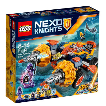 LEGO NEXO KNIGHTS AXLS RUMBLE MAKER