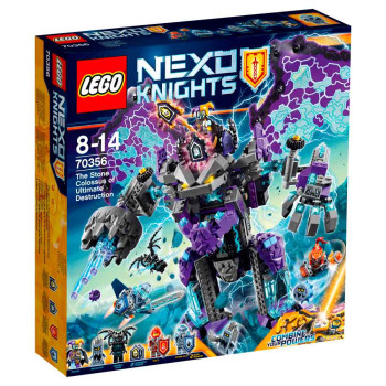 LEGO NEXO KNIGHTS THE STONE COLOSSUS OF ULTIMA..