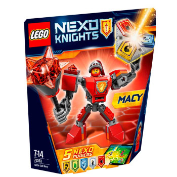 LEGO NEXO KNIGHTS BATTLE SUIT MACY
