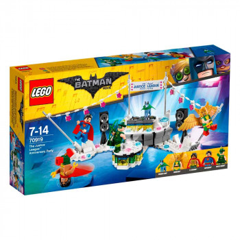 LEGO BATMAN MOVIE The Justice League Anniversary Party