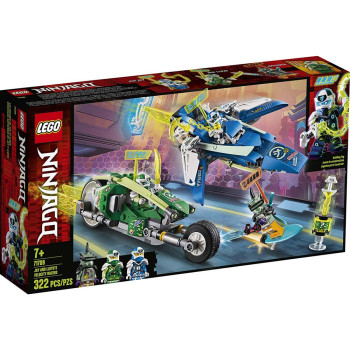 LEGO NINJAGO JAY AND LLOYDS VELOCITY RACERS