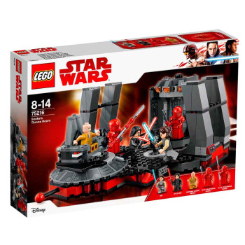 LEGO STAR WARS SNOKES THRONE ROOM