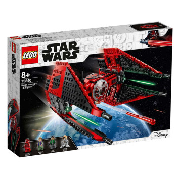 LEGO STAR WARS MAJOR VONREGS TIE FIGHTER
