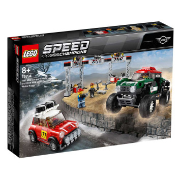 LEGO SPEED CHAMPIONS 1967 MINI COOPER S RALLY
