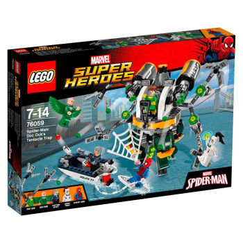 LEGO SUPER HEROES SPIDERMAN DOC OCK S TENTAC