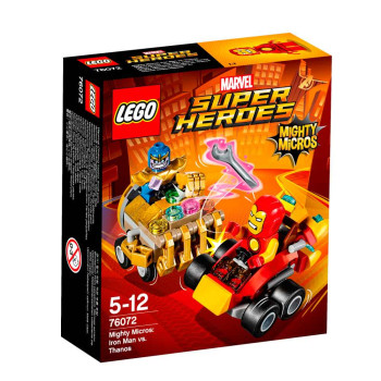 LEGO SUPER HEROES MIGHTY MICROS: IRON MAN VS...