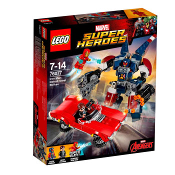 LEGO SUPER HEROES IRON MAN: DETROIT STEEL STRI...