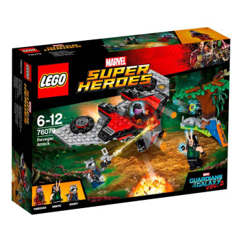 LEGO SUPER HEROES RAVAGER ATTACK