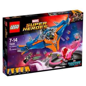 LEGO SUPER HEROES THE MILANO VS. THE ABILISK