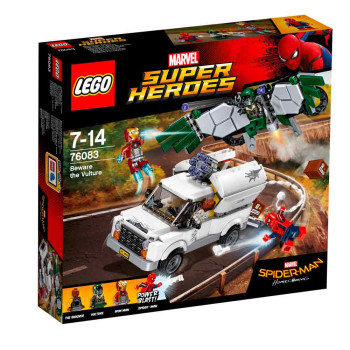 LEGO SUPER HEROES SPIDERMAN BEWARE THE VULTURE 2