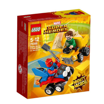 LEGO SUPER HEROES MIGHTY MICROS SCARLET SPIDERMAN VS SANDMAN
