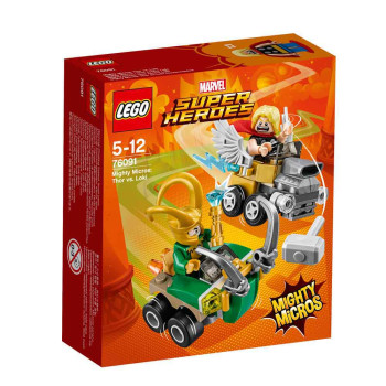 LEGO SUPER HEROES MIGHTY MICROS THOR VS LOKI