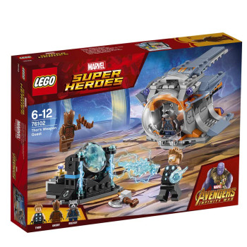 LEGO SUPER HEROES THORS WEAPON QUEST